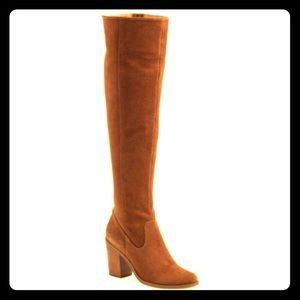 Steve Madden 'eternul' Chestnut Suede Heels Boots